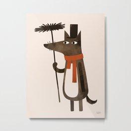 Chimley the Sweep Metal Print
