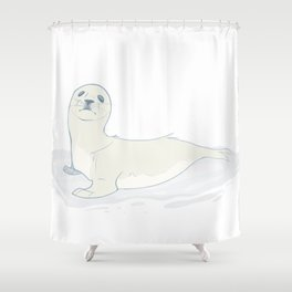 Seal Pup Shower Curtain