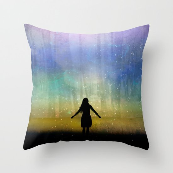 See Beyond Throw Pillow