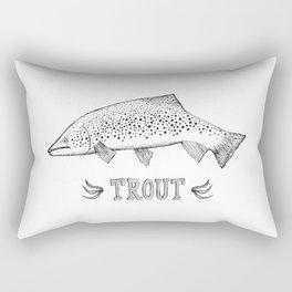 trout Rectangular Pillow