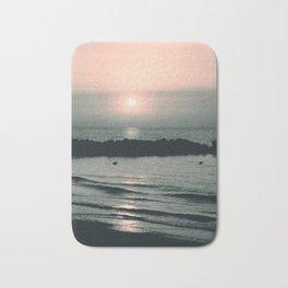 Sunset Ocean Bliss #4 #nature #art #society6 Bath Mat