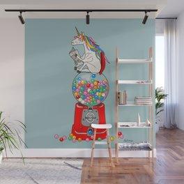 Unicorn Gumball Poop Wall Mural