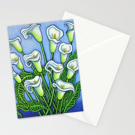 Calla Lily Dreaming Stationery Cards
