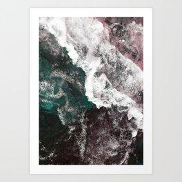 Abstract Sea, Water Art Print
