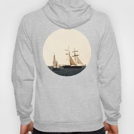 Sailboats in a windy day Hoody