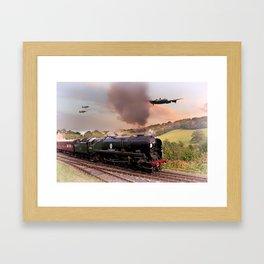 Battle of Britain Class Framed Art Print