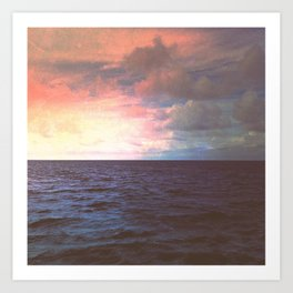 Roanoke Sound Art Print