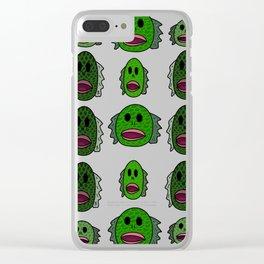 Lagoon People Clear iPhone Case