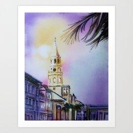 Charleston 1 Art Print