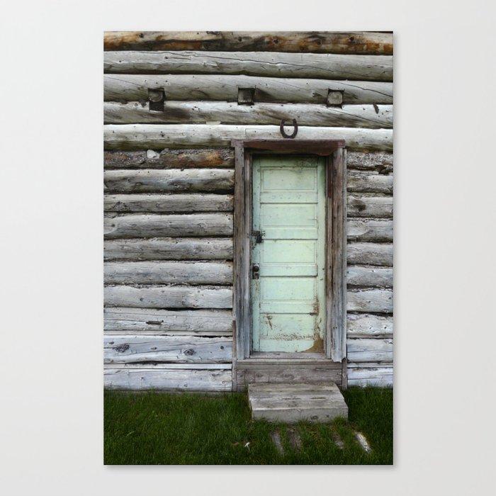 Architectural Contradiction Canvas Print