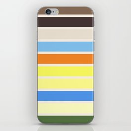 The colors of - to to ro iPhone Skin
