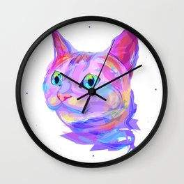 Cute cat (Animal set) Wall Clock