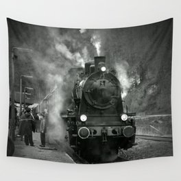 Steam Engine Wall Tapestry