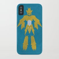 digimon iPhone & iPod Cases featuring Magnamon by JHTY