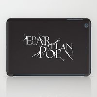 edgar allan poe iPad Cases featuring edgar allan poe by ferzan aktas