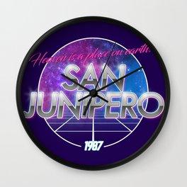 San Junipero - Black Mirror Wall Clock