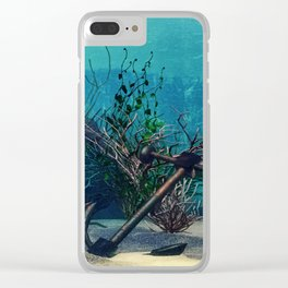 Ocean 2 Clear iPhone Case