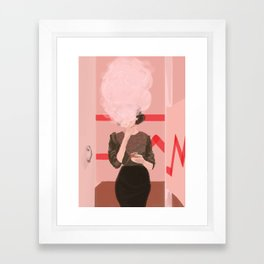 """""""and i get what i want"""" Framed Art Print"""