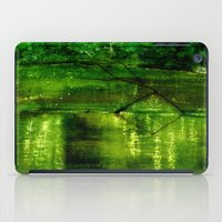 river iPad Cases featuring river by agnes Trachet