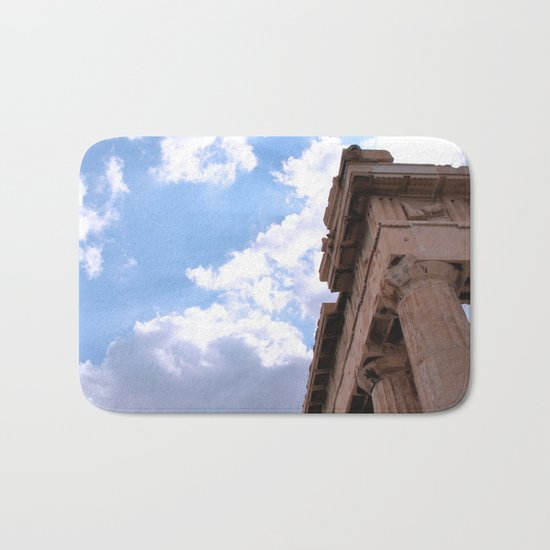 Sky above Parthenon Bath Mat