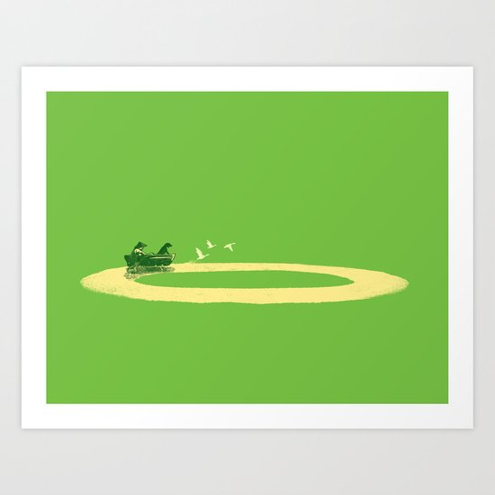 Long Journey Art Print