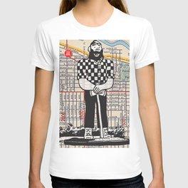 Paul Bunyan statue, North Portland, You Are Here, Portland. T-shirt
