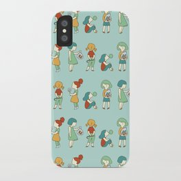 Candy girls iPhone Case