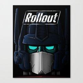 ROLLOUT v2 Canvas Print