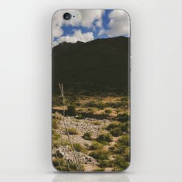 A Hike Through The Franklin Mountains iPhone Skin