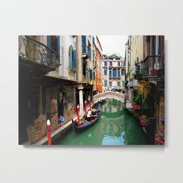 A Venice Canal Metal Print