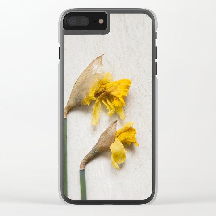 Daffodil 2 Clear iPhone Case