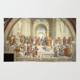 Raphael - The School of Athens Rug