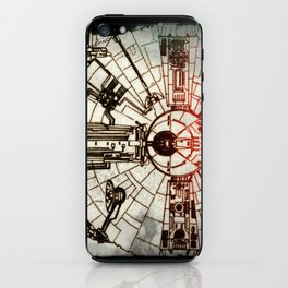 YT-1300 light freighter iPhone Skin