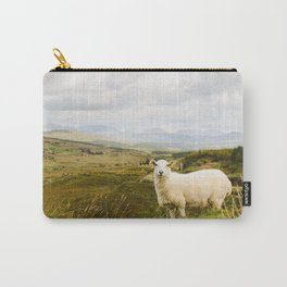 A sheep in the Irish hills Carry-All Pouch