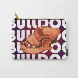 Bulldog Skull Carry-All Pouch