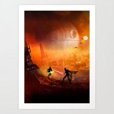 STAR . WARS Art Print