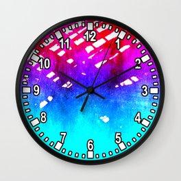 Performing color Wall Clock