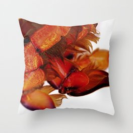 Spanner Crab Claws Throw Pillow