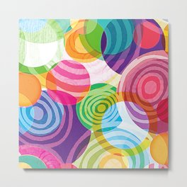 Circle-licious Sweetie Metal Print