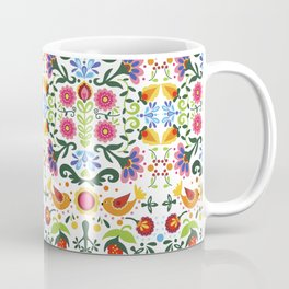 flower folk art Coffee Mug