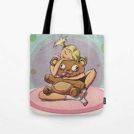 TeddyBear Love Tote Bag