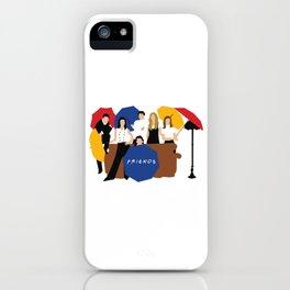 Friends Umbrella iPhone Case