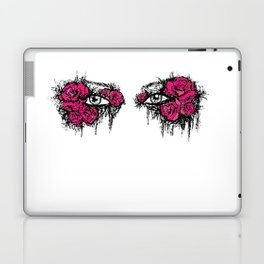 If I Could hide your eyes  Laptop & iPad Skin