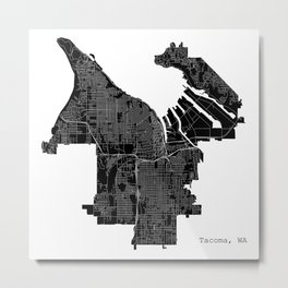 Tacoma, WA Metal Print