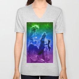 Eagle Nebula MC Unisex V-Neck