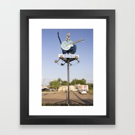 Devil's Crossroads Framed Art Print