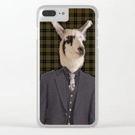 Lord Llama Clear iPhone Case