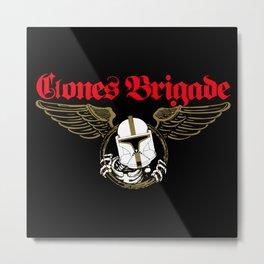 Clones Brigade 2 Metal Print