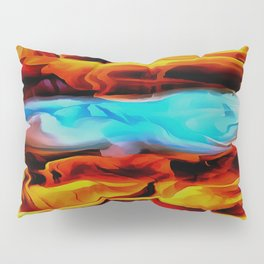 Fire and Ice Pillow Sham