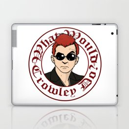 What Would Crowley Do? Laptop & iPad Skin